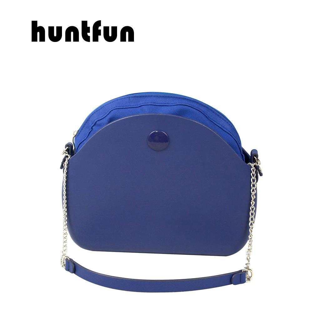 huntfun New Obag moon light Body with shoulder chain inner waterproof pocket bag rubber silicon O moon light O bag women handbag