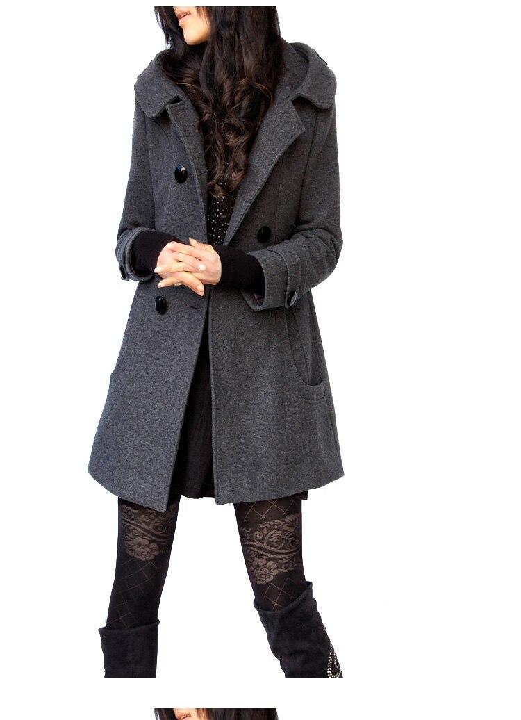 largo Último chaqueta Feminino 1