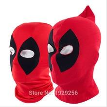 5pcs Lycra or Rib Fabrics Deadpool Masks Balaclava Halloween Cosplay Costume X-men Hats Headwear Arrow Deathstroke Entertainment