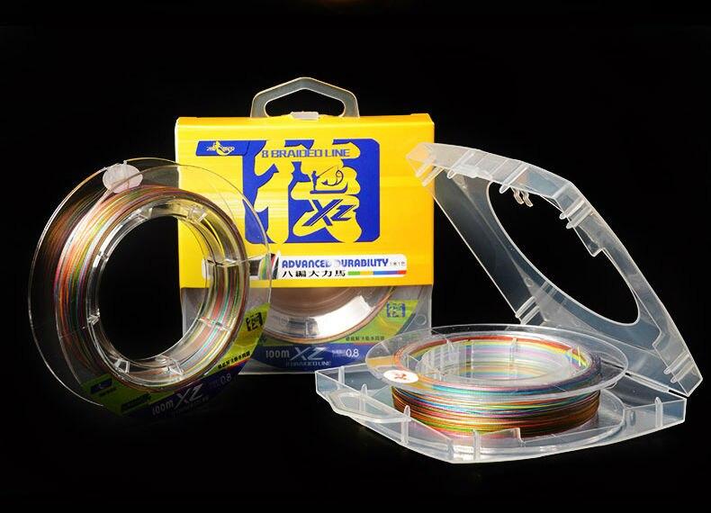 Super snažna višestruka PE pletenica 8 pramenova 8 pletiva 100m - Ribarstvo - Foto 3