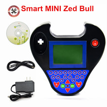 Автомобильный ключевой программатор, Смарт zed bull Мини Автомобильный Транспондер, инструмент, красный/черный ZED BULL многоязычный чип ридер для автомобильных ключей