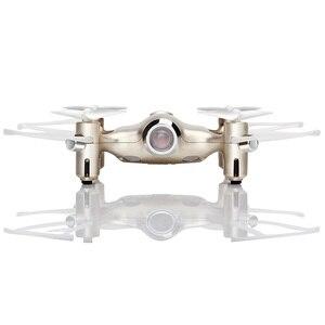 Image 3 - Syma X20 Mini Drone doré 2.4G 4CH 6 aixs télécommande hélicoptère quadrirotor Gyro poche RC Dron 3D flip enfants jouets cadeau