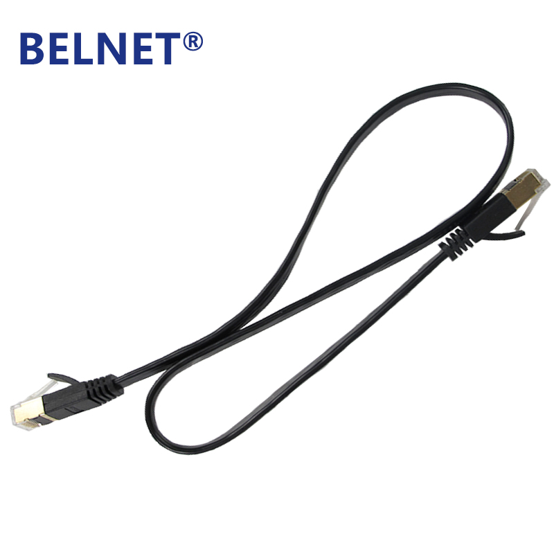 BELNET RJ45 Cat7 Network Patch Ethernet Lan Cord FTP Gigabit Flat - Համակարգչային մալուխներ և միակցիչներ - Լուսանկար 6
