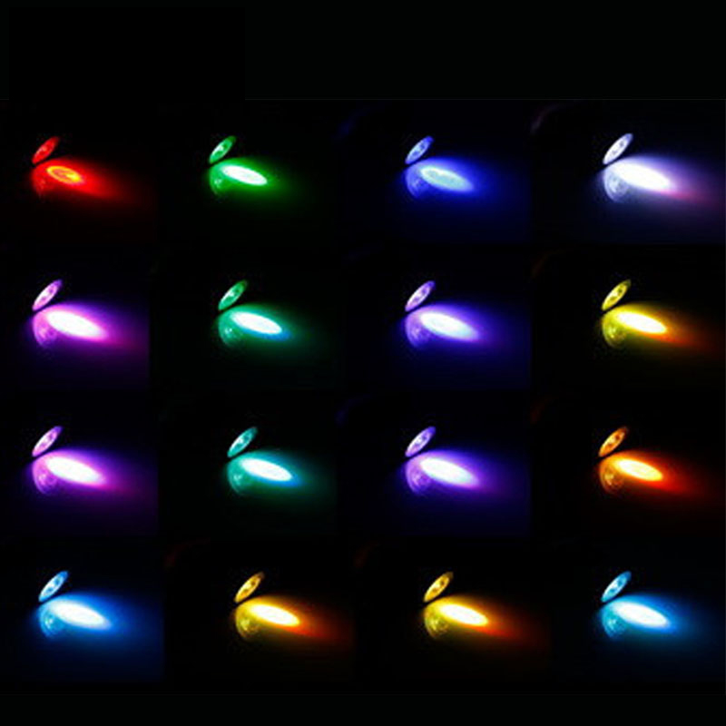 "'die ""3 W E27 16 Farbe Led Rgb Magie Spot Glühbirne Lampe Mit Wireless Fernbedienung 889"