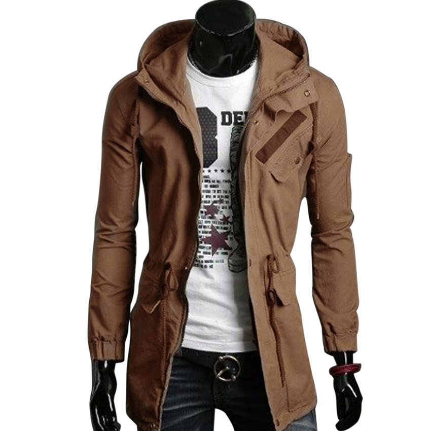 Trench Coat Brown L5qIH0