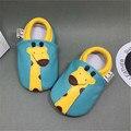 Chinelos macios Genuínos Sapatos De Couro Do Bebê Menino Do Bebê Da Menina Da Criança Mocassins 0-6 6-12 12-18 sapatos recém-nascido chaussure garcon