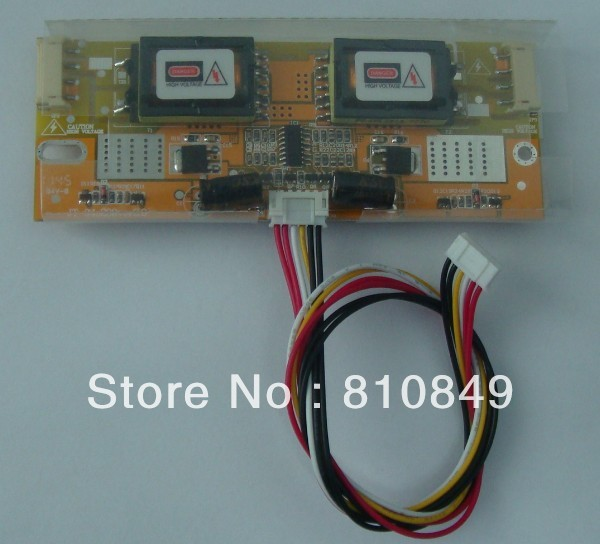 4 Lamp CCFL Inverter board for LCD screen monitor and PC with Two Port