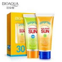 Солнцезащитный крем увлажняющий лицо защитный лосьон от солнца UV Cut солнцезащитный крем для ухода за телом скраб корректоры для лица водонепроницаемая изоляция