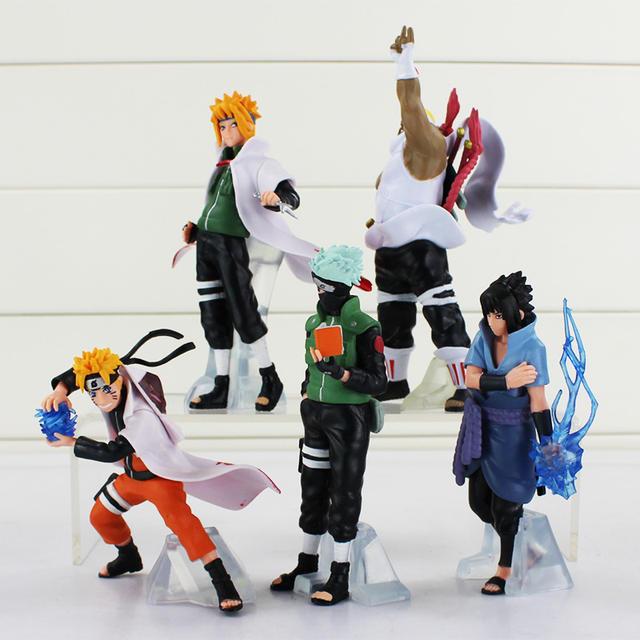 5 Pcs Figure Model Anime Naruto Uchiha