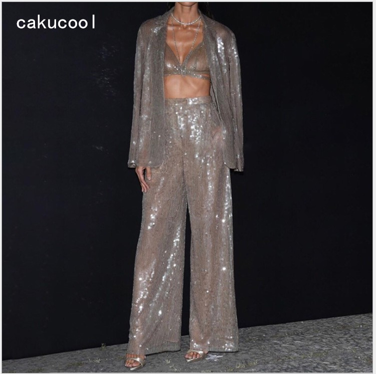 59dccff971 🛒 [HOT DEAL] | Bling Fashion Sparkly Rhinestones Jumpsuit Full ...