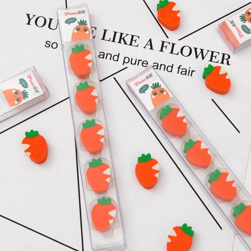 Купить с кэшбэком 5pcs/lot  Toothbrush Bathroom eraser school office rubber eraser special painting classic old brand eraser reward gift