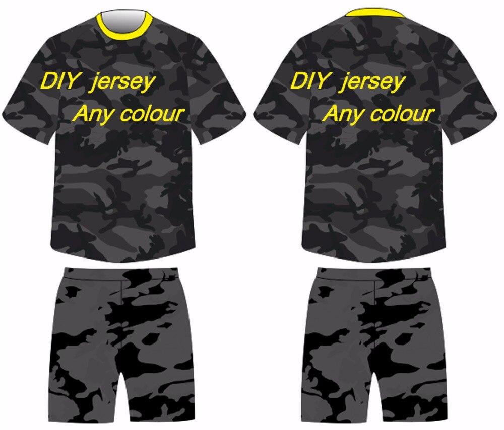Design your own football jersey t-shirt - Free Shipping Moq 1pcs 2017 Newest Hot Sale Design Custom Team Soccer Uniforms Football Jersey Custom Soccer Jersey Maker