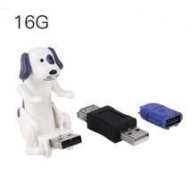 Amzdeal 16 г 4 г USB U Диск Собака моделирующая вспышка Drive Memory Stick OTG устройства Ноутбуки OTG разъем USB мужчин и женщин