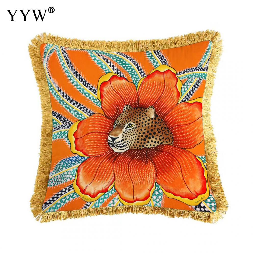 Creative Scandinavian Throw Pillow Case Polyester Decorative Pillowcases Throw Pillow Cover Square 50*50cm Home Bed Room|Pillow Case| |  - title=