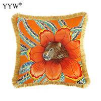 Creative Scandinavian Throw Pillow Case Polyester Decorative Pillowcases Throw Pillow Cover Square 50*50cm Home Bed Room|Pillow Case| |  -