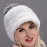 2018 new JKP high quality fashion women's hat fox fur hat mink fur winter hat BZ17 01