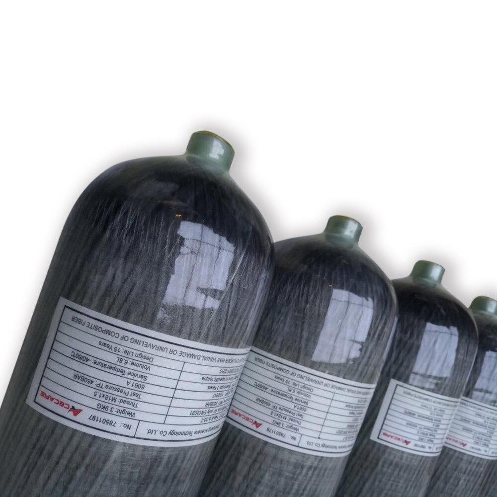AC168  6.8L Paintball/ Diving/ Oxygen Tank Fiber Cylinder Airforce Condor Pcp High Pressure Cylinders Airgun Air Compressed Guns