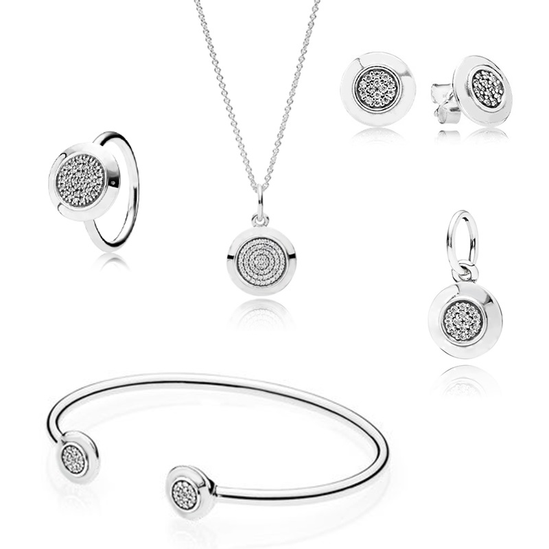 925 Sterling Silver Bead New Security JEWELRY SET Bead Fit