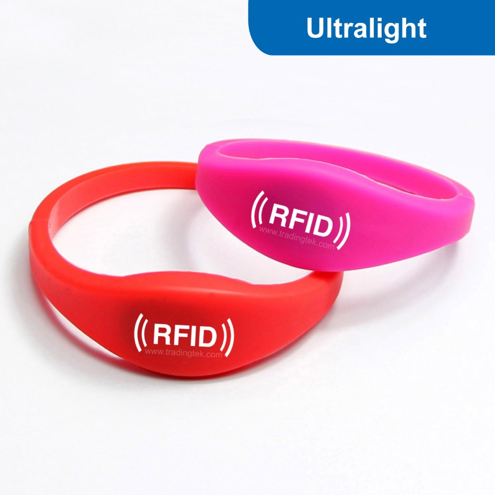access silicone tag with cards chip card smart item control read bracelet in only for rfid wristband id proximity from