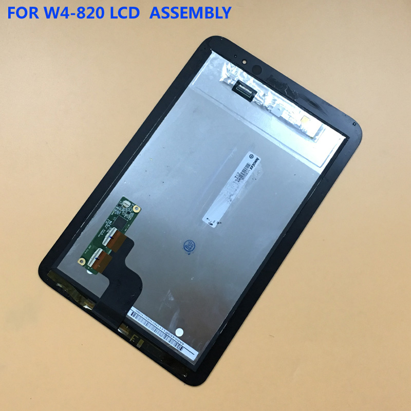 For Acer Iconia W4 820 W4-820 W4-821 Black Touch Screen Digitizer Glass Sensor Panel + LCD Display Panel Assembly