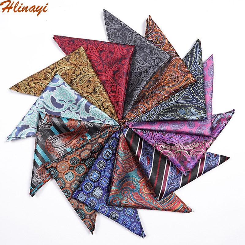 Hlinayi Men's New Cashew Stripe Pocket Towel