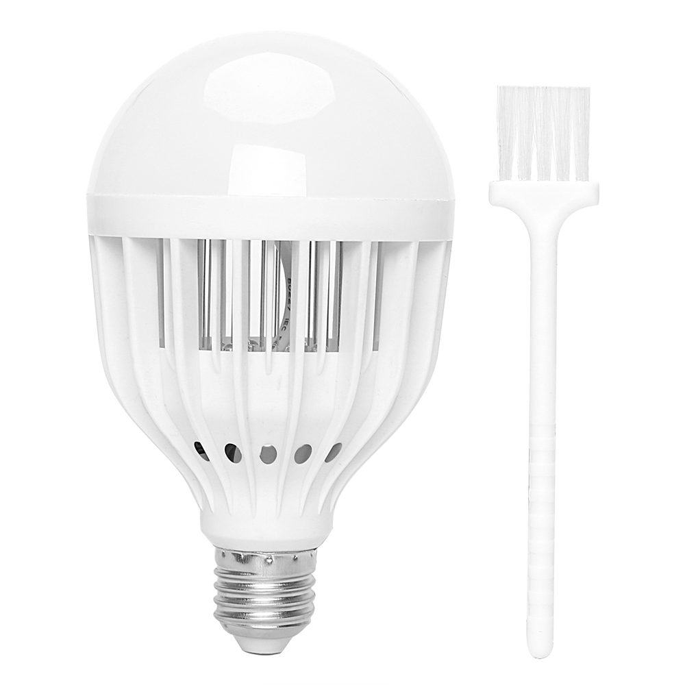 US $5 8 30% OFF|ITimo LED Bulb E27 Light 10W Anti mosquito Lamp With Clean  Brush AC 90~265V Insect Fly Attract Killer Super Bright-in LED Bulbs &