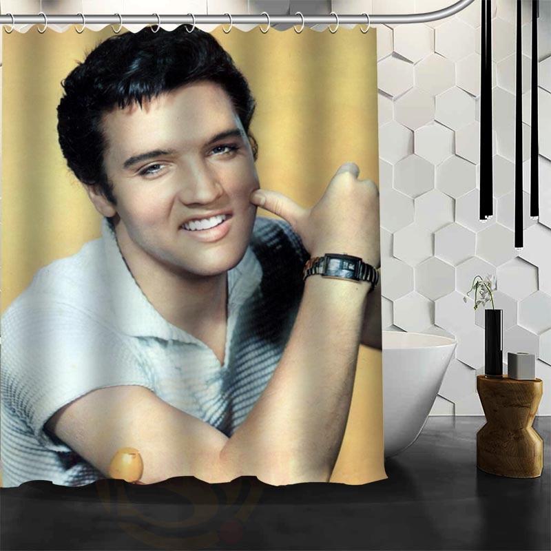 Benutzerdefinierte Elvis Presley Duschvorhang neue große - Haushaltswaren - Foto 4