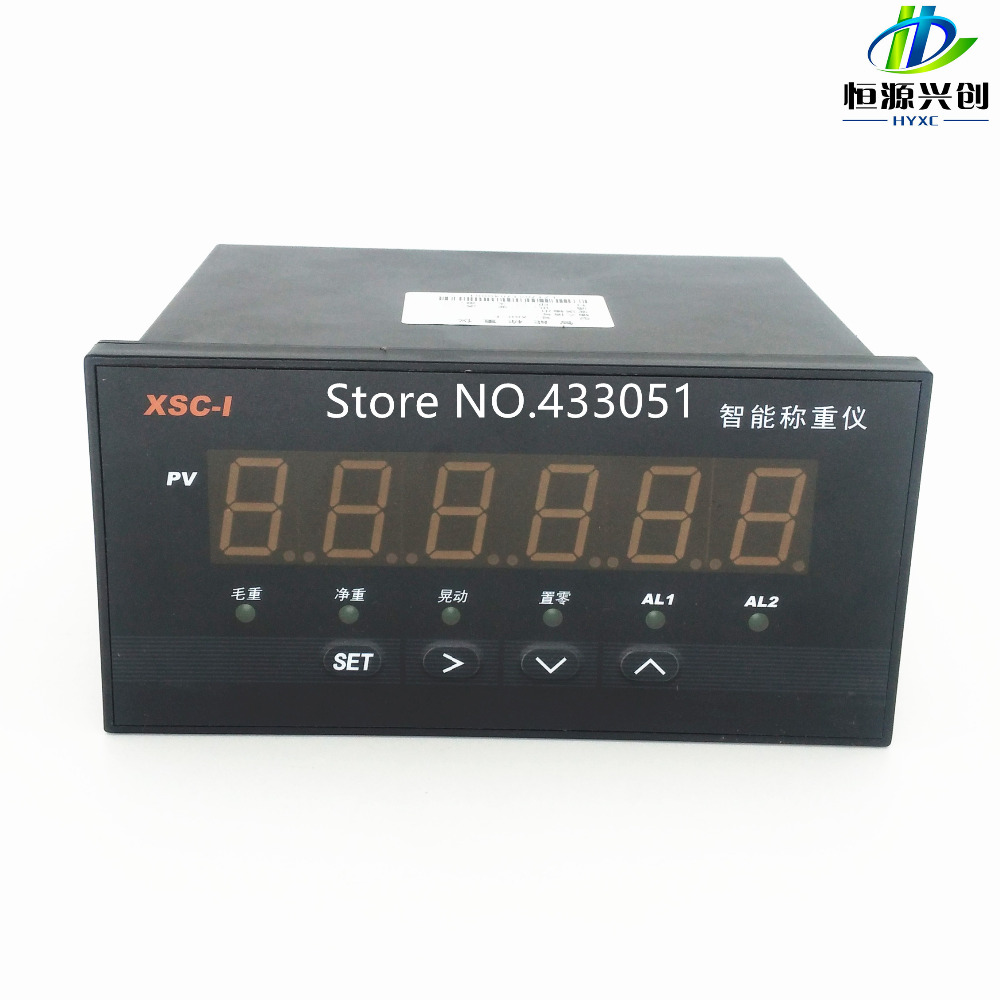 Weighing instruments/Weighing indicator with Communication function RS485/Free test software/Multifunction weighing controller