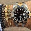 Anil Arjandas Design Crystall Ball Beads Zircon Stone High Quality Charm Luxury Bracelet Macrame Braided Men Bracelet