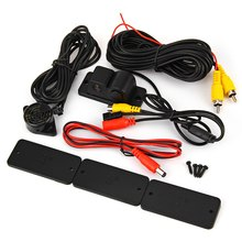 2 in 1 Auto Parkplatz Sensor Rückfahrkamera Rückunterstützungs mit Summer Wasserdichte Sensoren Radar Kit CMOS Cam 170 Grad