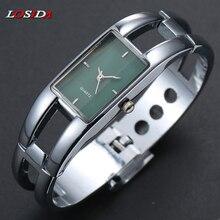 Купить с кэшбэком Stainless Steel Wristwatch Bracelet Relojes mujer 2017 Quartz watch Woman Ladies Watches Clock Female Dress Relogio Feminino