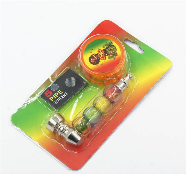 1PC Pipe+1PC Tobacco+1PC Mesh Pocket Pipe