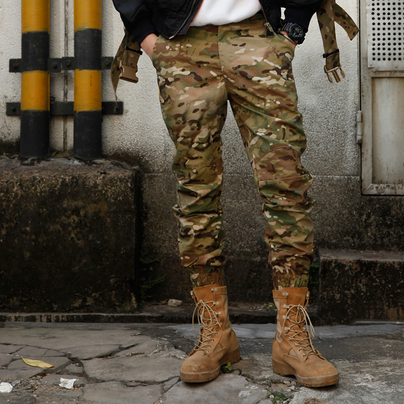 1X Men/'s Camouflage Pants Outdoor CS Game Military Tactical Trousers