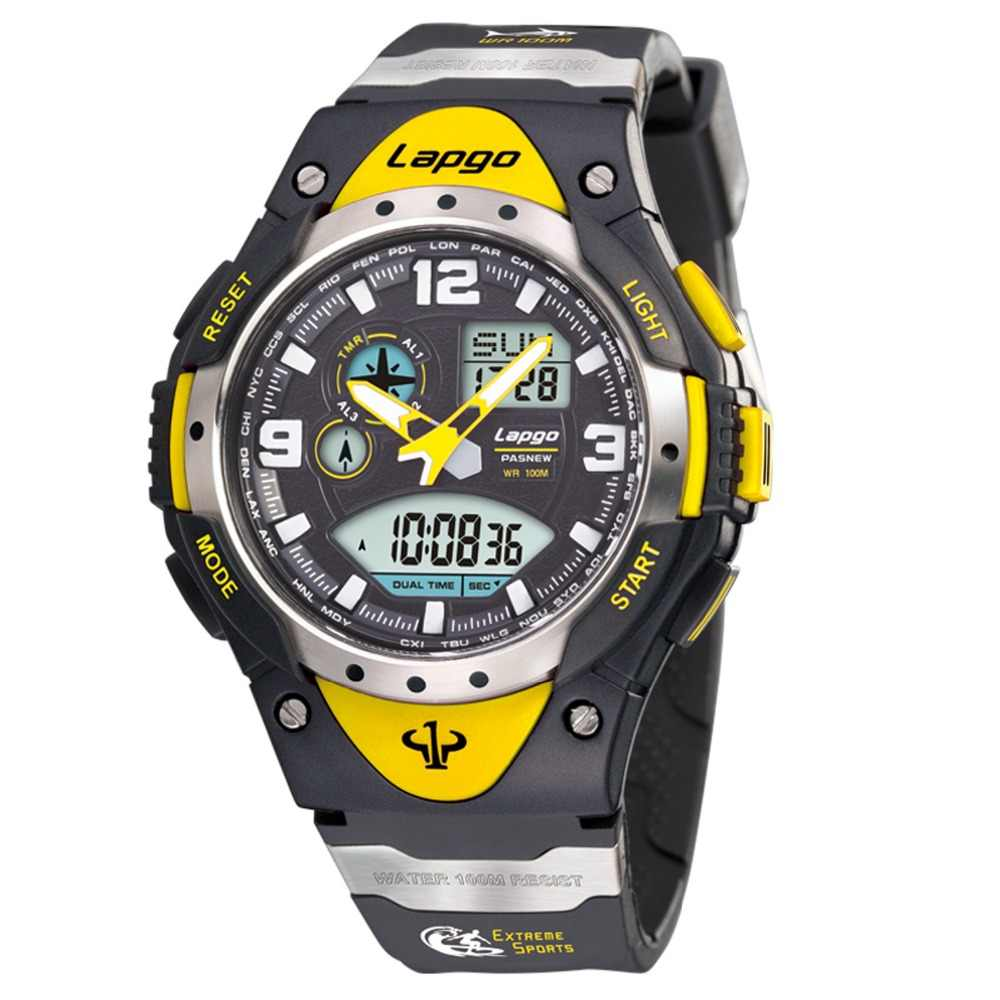Top Luxury Brand Pasnew Watches Military Men Watches Sports Watches Men 100M Waterproof Swim Dive Watches  relogio masculino