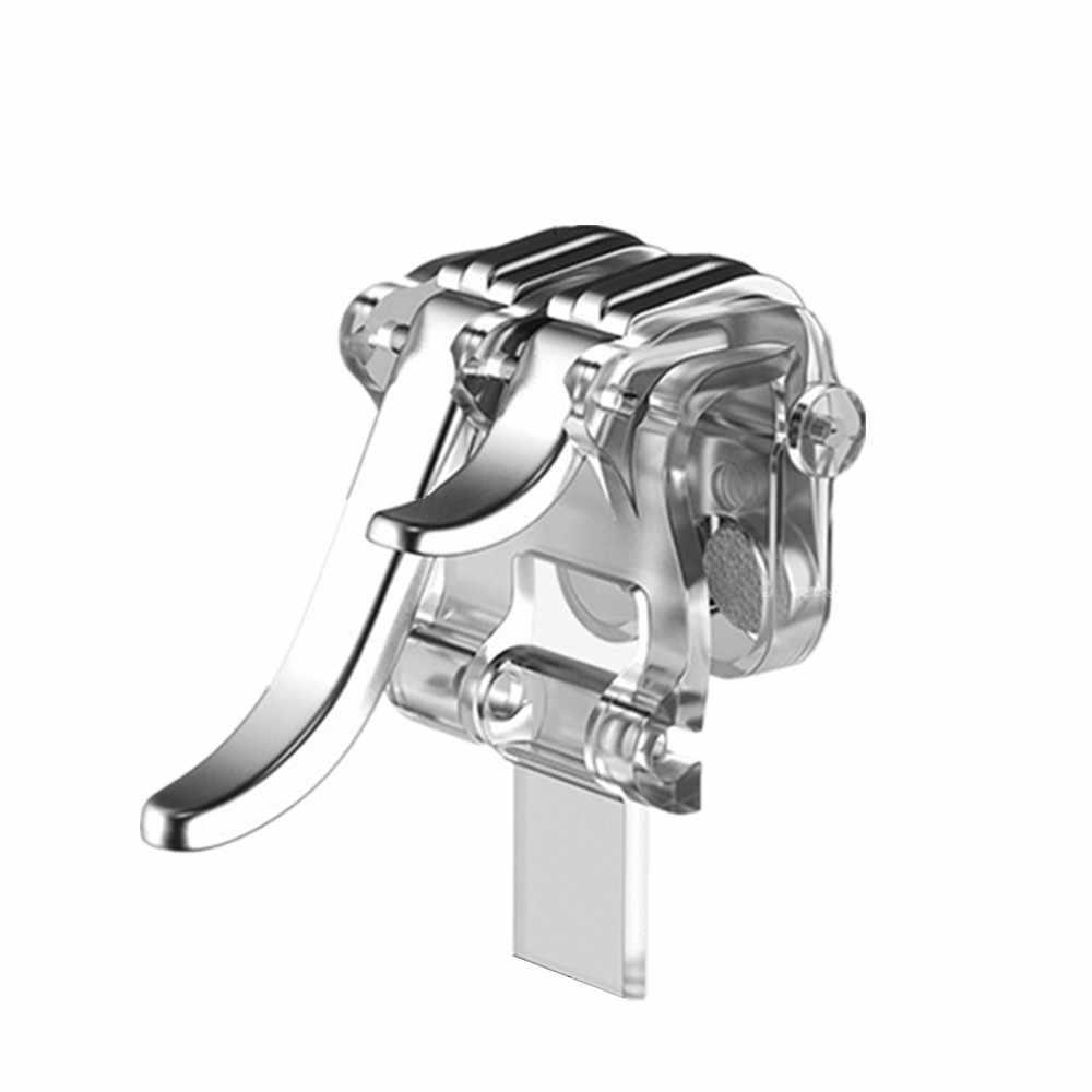 Trasporto di goccia Del Telefono Mobile Gaming Trigger Fuoco Bottoni Maniglia per L1R1 Controller PUBG gamepad joystick Giochi e Accessori * 30