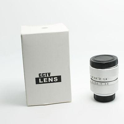 FUJIAN 25mm f/1.4 c mount cctv f1.4 lens for micro 4/3 m4/3 nex GX1 OM-D 1 silver