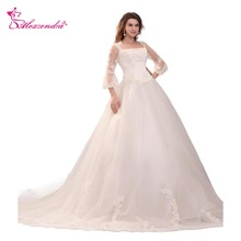 Alexzendra Ball Gown Wedding Dress with Bridal Gowns