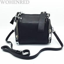 Autumn Winter Fashion Chain Genuine Leather Women Shouder Bag Small Size Female Messenger Designer Brand Famous Tote Handbag