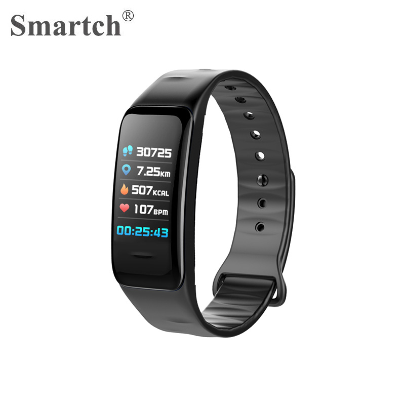 C1s Smart Wristband C1 Plus,Colorful Display Screen,3D UI Design,Fitness Activity Tracker Bracelet,Heart Rate Pulse Smart Band