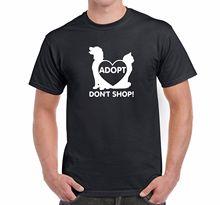 """Adopt Don't Shop!"" men's t-shirt"