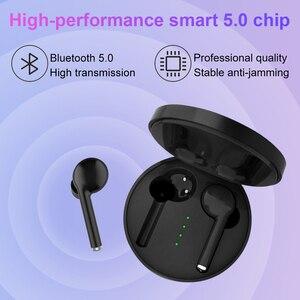 Image 4 - 5.0 Tai Nghe Bluetooth Chụp Tai TWS stereo không dây Bluetooth Tai nghe chụp tai Có Micro in ear thể thao chơi game tai nghe nhét tai không dây tai nghe