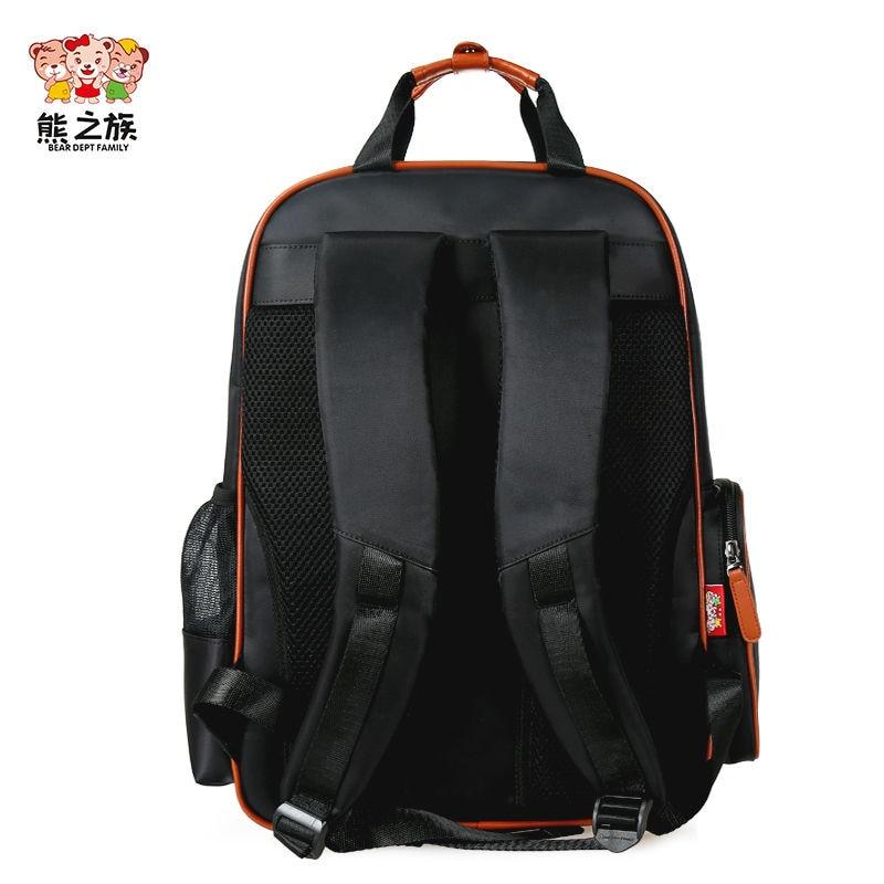 BEAR DEPT FAMILY Children Brand Kids Orthopedic Backpacks Waterproof  Backpack Teenager School Book Bags Boys Girls Soft Handbags ca0722c113a85