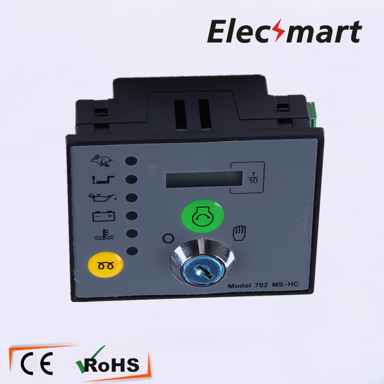 Deep Sea Generator Controller DSE702MS Manual Start free shipping deep sea generator set controller module p5110 generator control panel replace dse5110