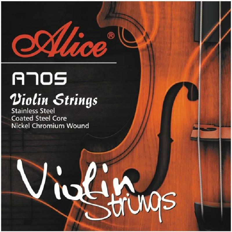 Vioolsnaar Alice A705 roestvrij staal gecoat staal kern Nikkelchroom - Muziekinstrumenten - Foto 1
