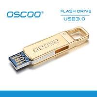 Oscoo usb 3.0 32 جيجابايت 64 جيجابايت محرك فلاش usb العصي الذاكرة قطب ش القرص ل usb المحمول سطح المكتب ويندوز xp/7/8 10