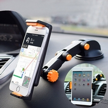 New Foldable Long Neck Arm Rotatable Car Mount Cell Phone Holder Table Strong Sucking Stand Holder for Phone Tablet mbr cell power neck