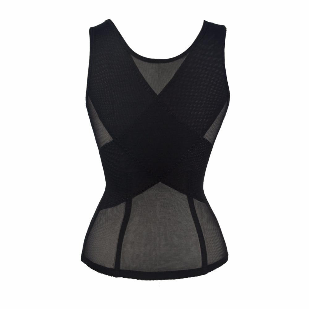 Abdomen Lace Waist Belt Corset Cross Slimming Underwear Vest Women Corset Cincher Breathable Sculpting Belly Control Body Shaper (3)
