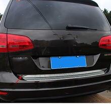 Декоративная лента из нержавеющей стали для задней двери багажника