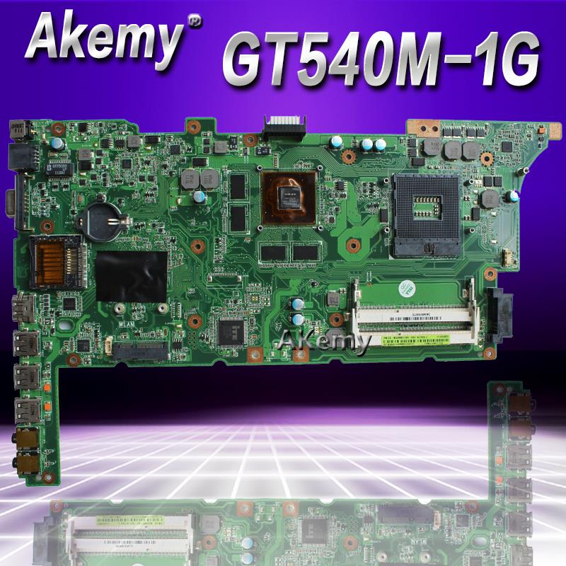 Akemy K73SV K73SD Laptop Motherboard For ASUS K73SD K73S K73SV K73SJ Test Original Mainboard HM65 GT540M 1GB