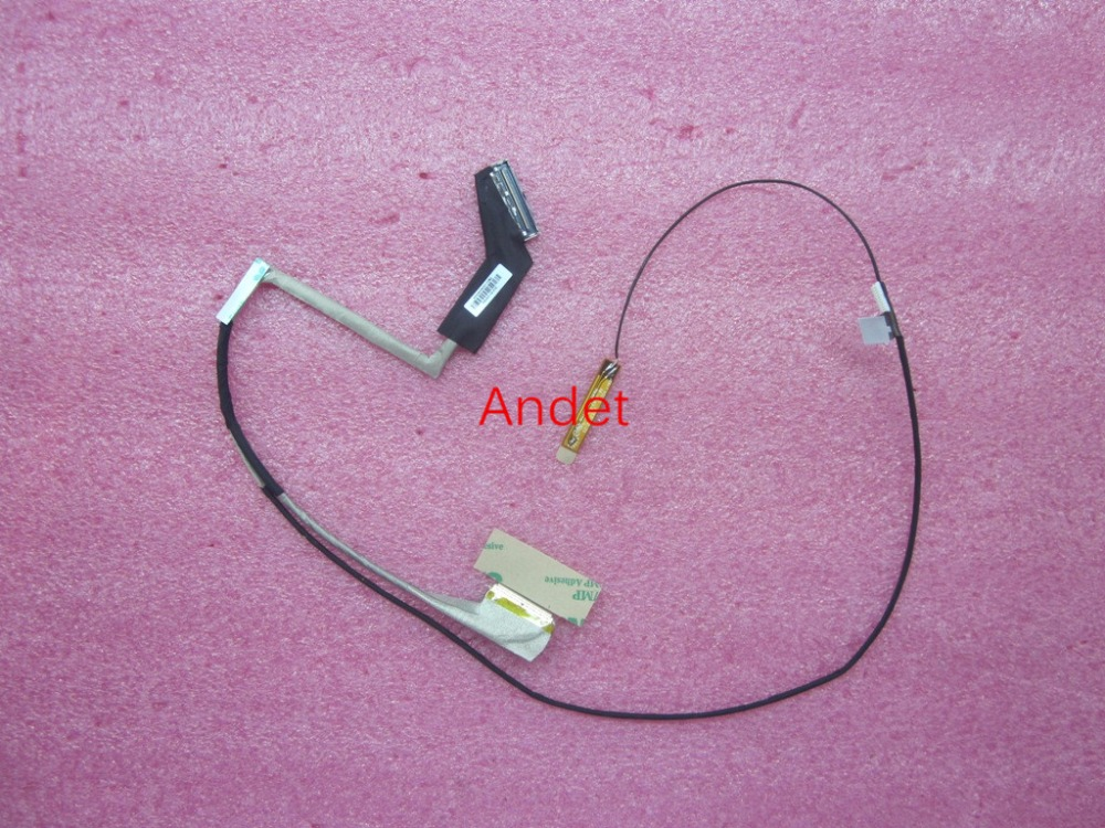 New Original for Lenovo ThinkPad E431 E440 Touch LCD LVDS LED Cable Screen Video Camera Cable Line 04X1963 DC02001LB00